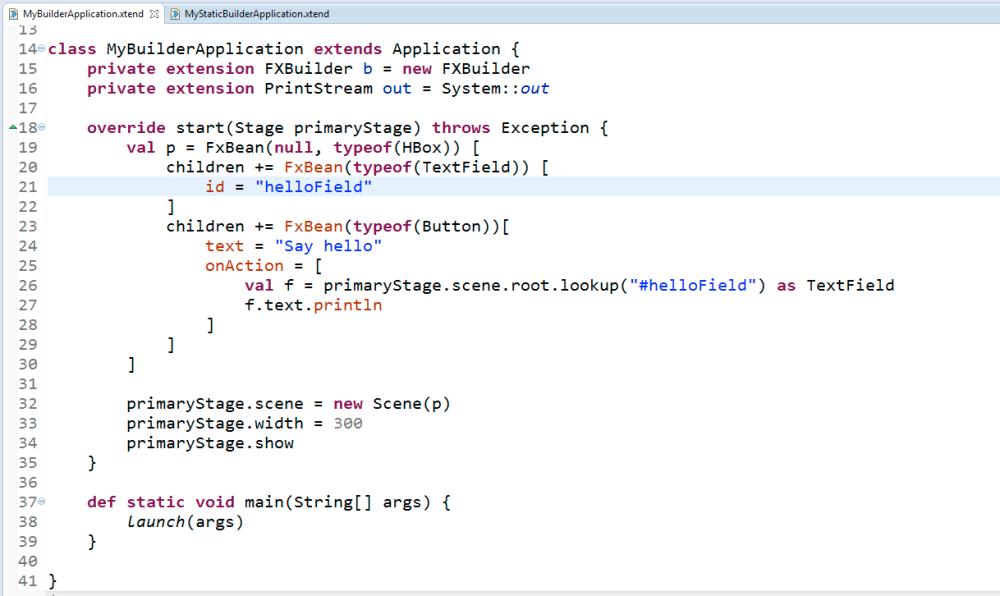 JavaFx + xtend a sensational perfect match (3/4)