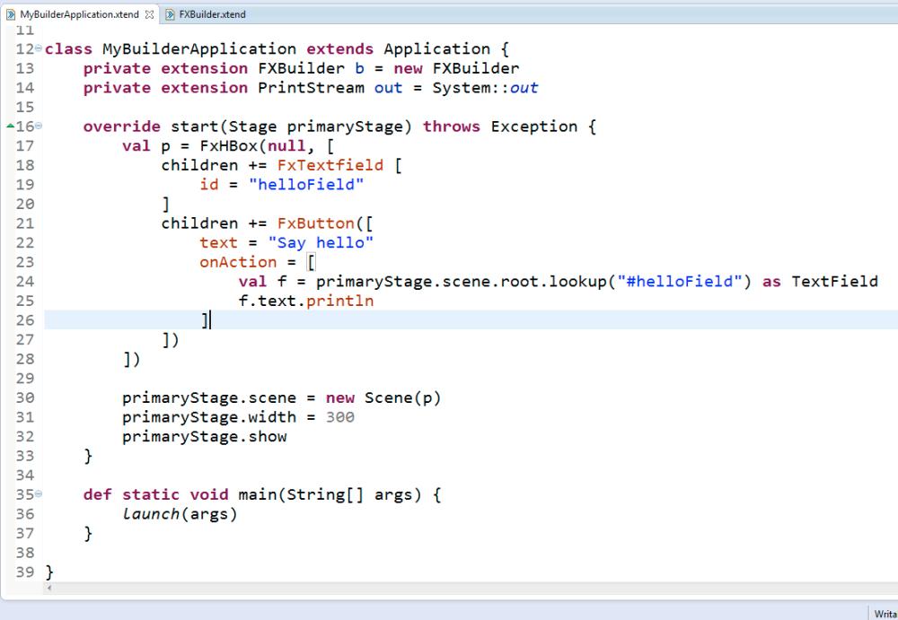 JavaFx + xtend a sensational perfect match (2/4)