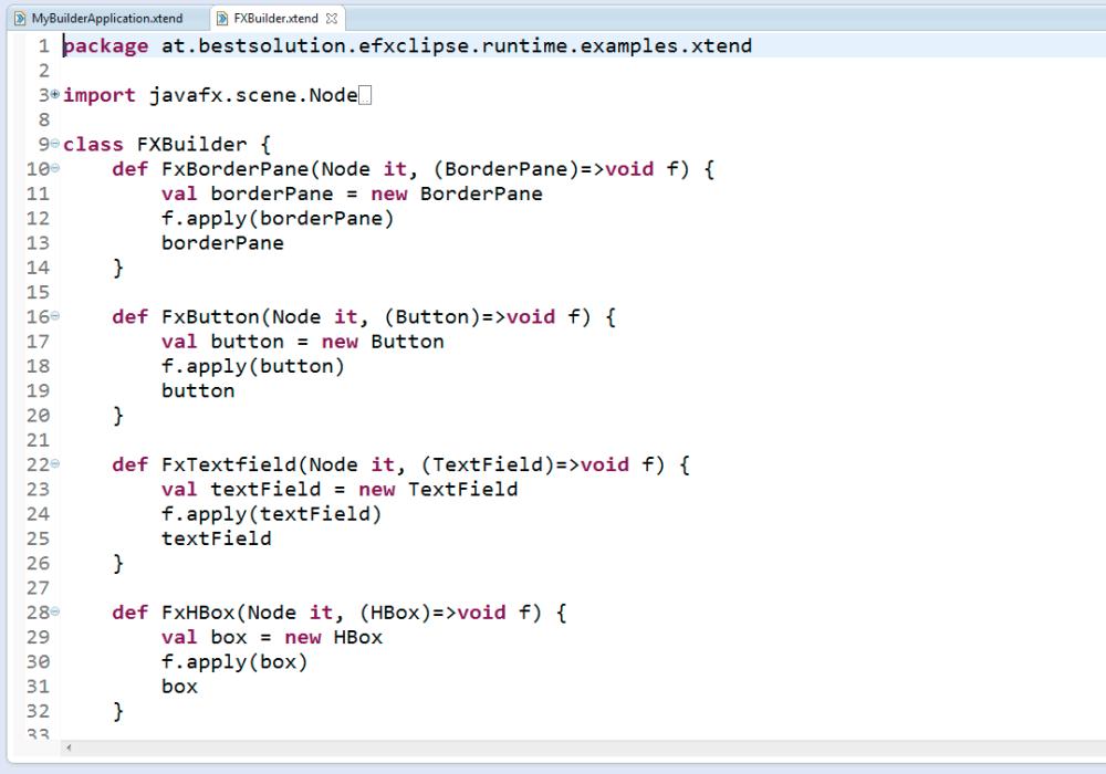 JavaFx + xtend a sensational perfect match (1/4)