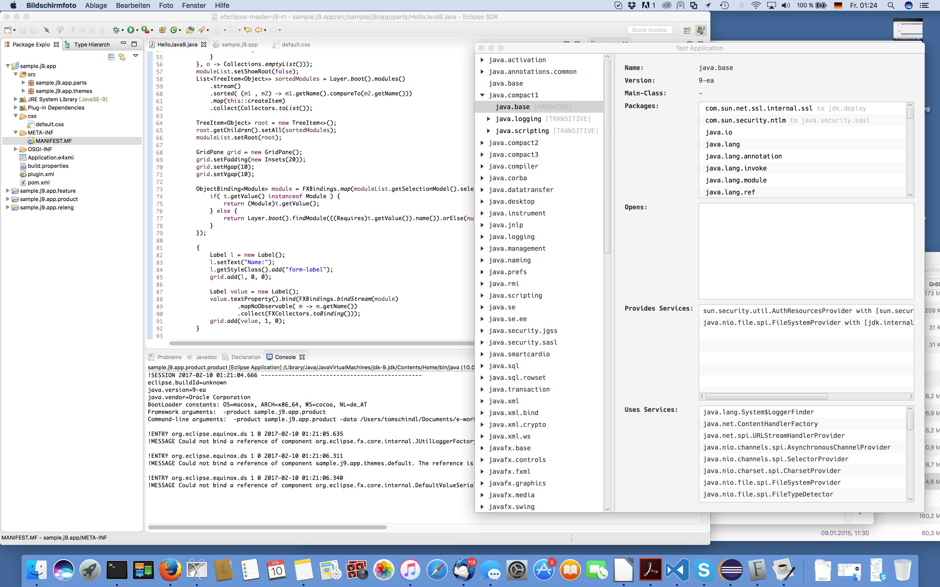 e(fx)clipse support for Java9 | Tomsondev Blog